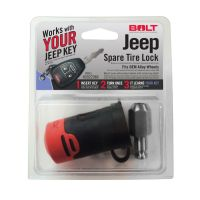 BOLT Spare Tire Lock for 91-18 Jeep Wrangler JK