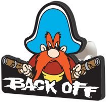 Hitch Cover - Yosemite Sam 002231R01