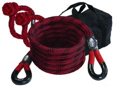 Radco Kinetic Recovery Rope 30' w/ Soft Shackles
