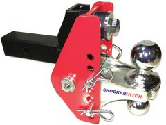 Shocker Hitch Impact Cushioned Combo Ball Mount