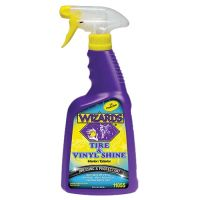 Wizards Tire & Vinyl Shine Dressing and Protectant